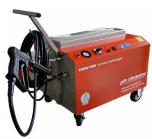 Czyszczenie na gorąco i dezynfekcja maszyny